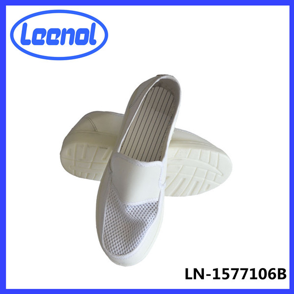 LN-1577106B ESD shoes PVC leather antistatic shoes